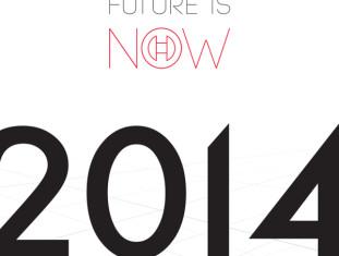 Thiết kế lịch đề bàn 2014 đơn giản sáng tạo - Vietart Advertising
