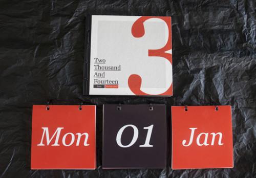 Ý tưởng Thiết kế lịch treo tường độc quyền 2014 cảm hứng sáng tạo - VietArt Avertising