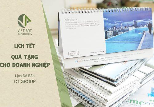 Thiết kế và in ấn lịch Tết đẹp